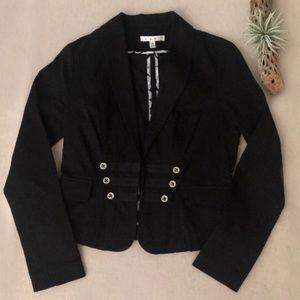 CAbi Military Style Fitted Blazer Jacket sz 2 #329